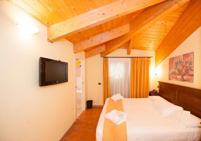 Camera deluxe romantic hotel4stelle Verucchio