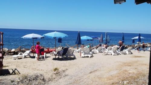 Spiaggia Attrezzata del Mare di Palinuro