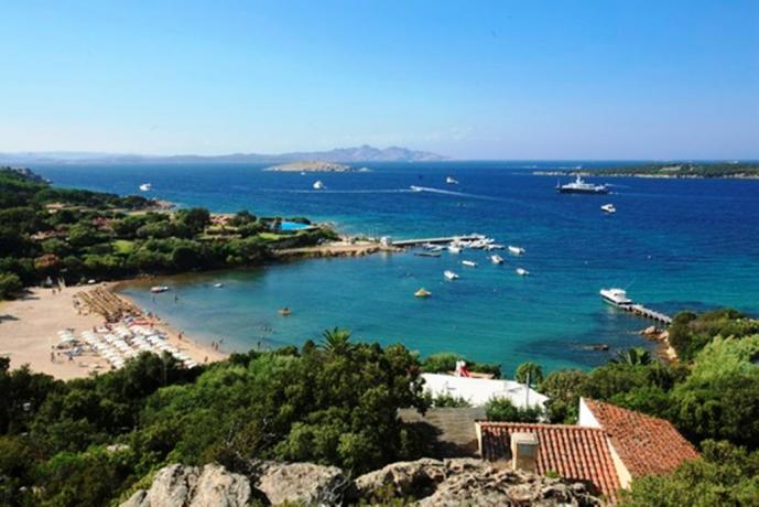 La bellissima Costa Smeralda in Sardegna