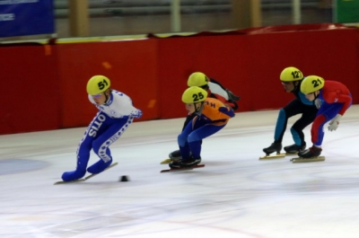 ice-skating in Chamonix