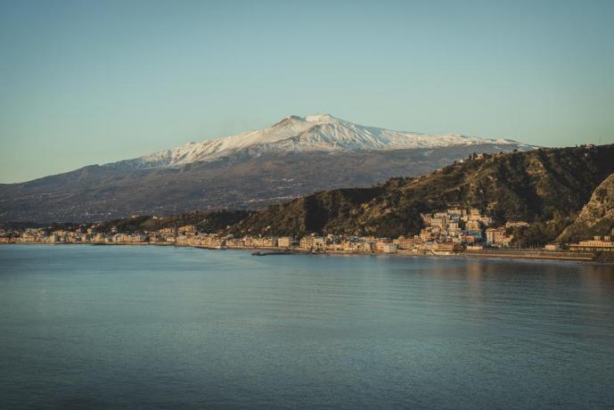 Residence a Villagonia con Vista Mare-Montagna