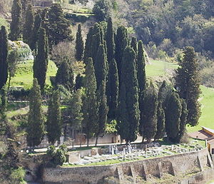 The Jewish Cemetery of Pitigliano, Tuscany