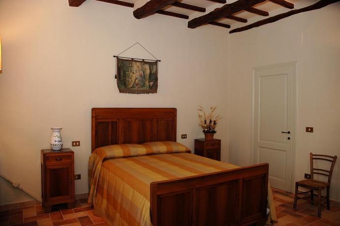 Appartamenti con letto matrimoniale Agriturismo in Umbria