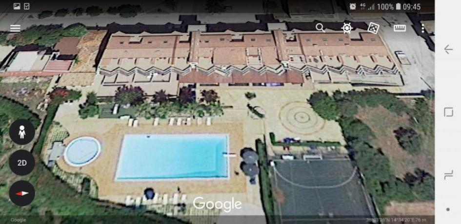 Come ci vede Google Map Residence Etnea
