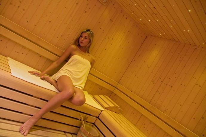 Centro benessere Hotel 4 stelle con Sauna