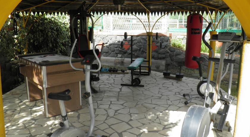 B&B con Area Fitness Giardino Parcheggio Nicolosi