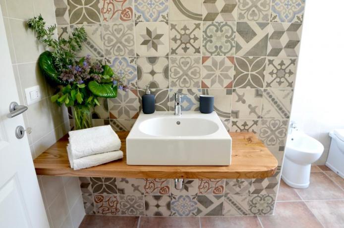 Bagno privato in camera B&B Genzano di Roma
