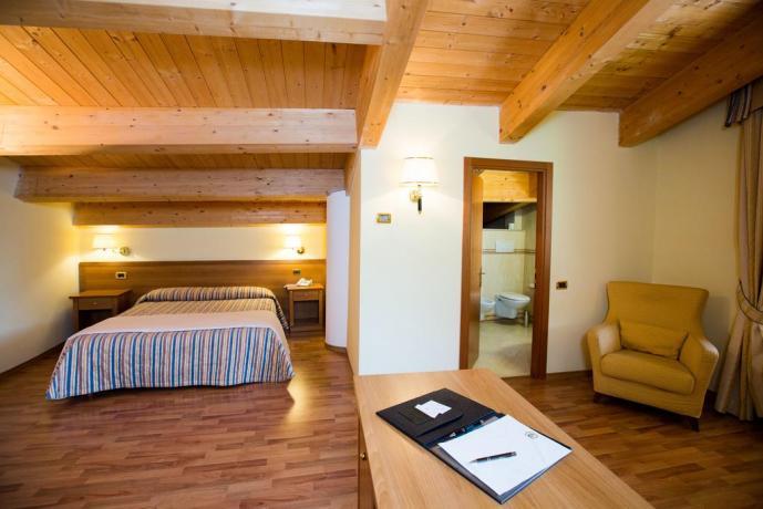 Camere ampie e lussuose Hotel in Umbria