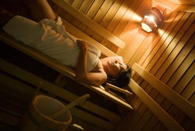 Sauna del centro benessere