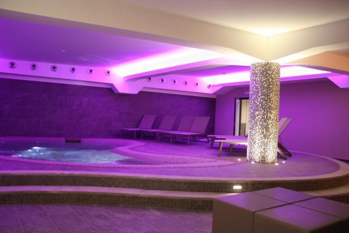 Centro benessere in hotel 4 stelle Fiuggi