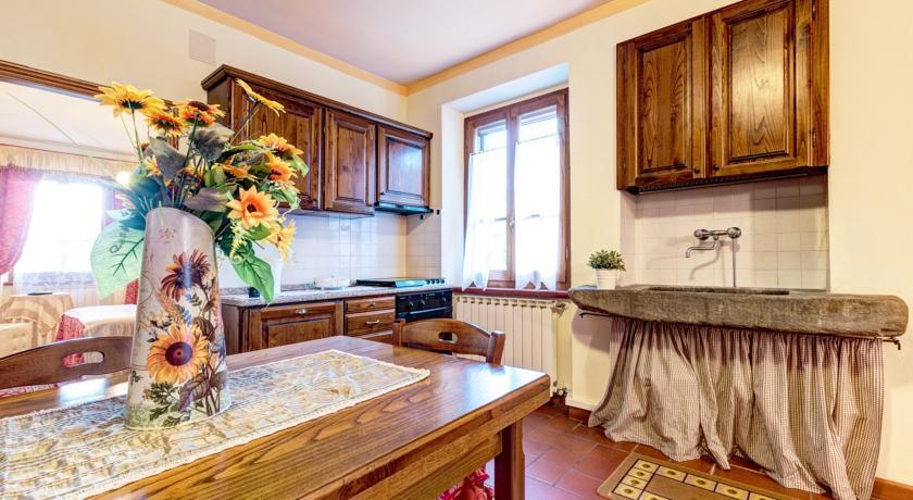 Appartamenti dallo stile rustico a Cortona in Agriturismo