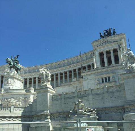 Veduta Altare della Patria a Roma