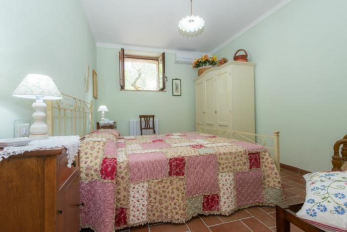Camera Matrimoniale in appartamento vacanza Lago-Trasimeno