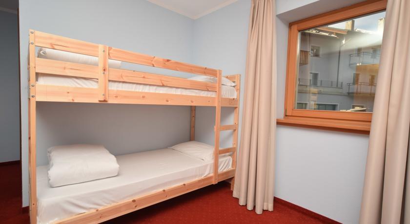 Camera ideale per famiglie vicino piste sciistiche