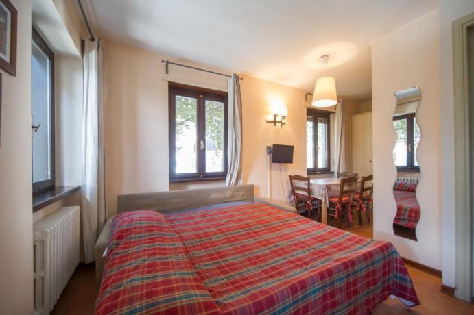 Appartamenti-vacanze monolocale 2-3-4persone con divano letto Bardonecchia