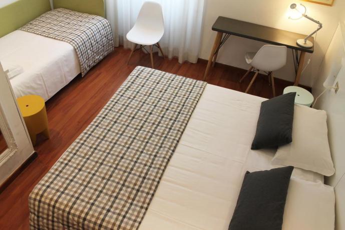 Camere eleganti, Hotel Milano Stazione centrale