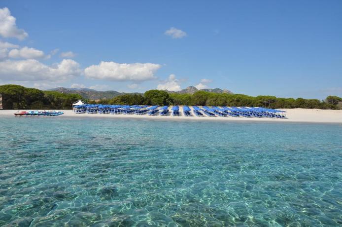 Spiaggia di Cala Ginepro in Sardegna