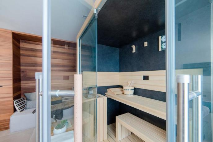 Exclusive SPA Suite sauna privata hotel4stelle Baia-Domizia