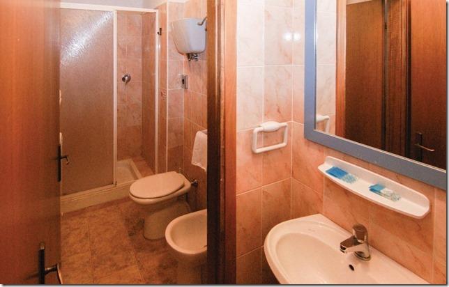 Bagno privato appartamento monolocale casale-agrituristico Magione