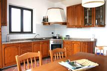 Cucina attrezzata per soggiorni a Pavia