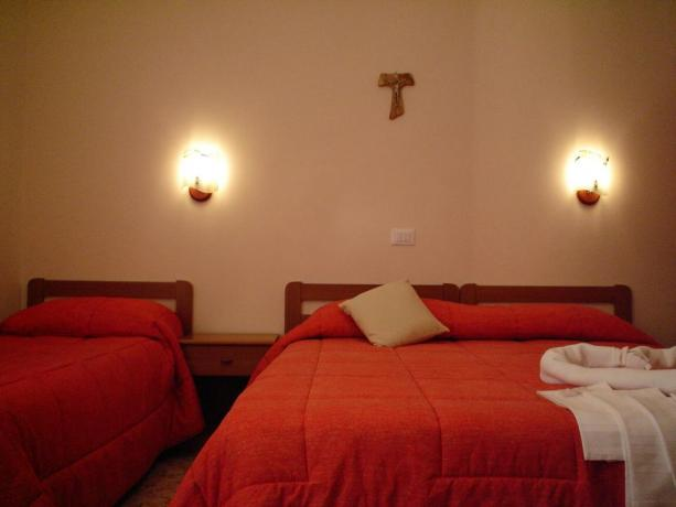 Appartamento con letto matrimoniale e singolo in Puglia