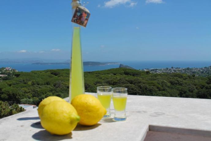 Casa vacanze a Barano d'Ischia con vista panoramica