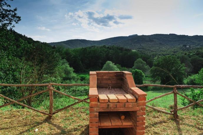 Casale attrezzato in Umbria per Gruppi