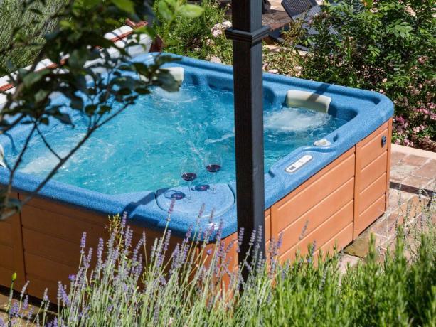 Villa a Perugia con vasca idromassaggio esterna