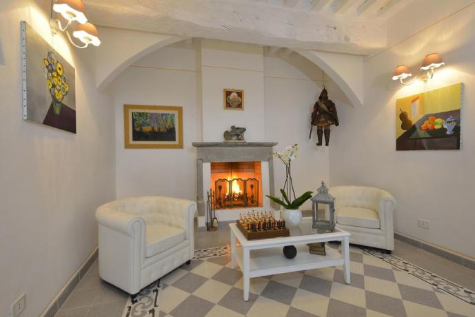 Casa Vacanza con Camino in Umbria