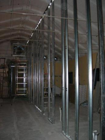 Realizzazione intere stanze o cabine in gesso