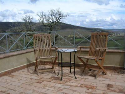 Terrazza privata della Villa