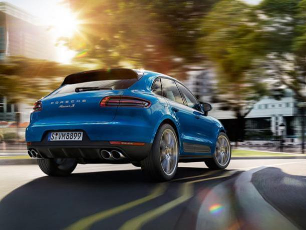 Prezzo Porsche Macan 3.0 Benzina Noleggio