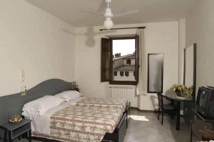 Camera doppia silenziosa e accogliete in Toscana