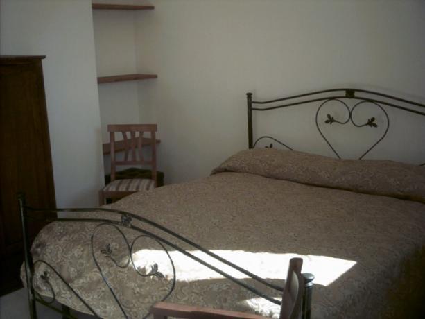 Camera letto in Casa in Pietra Alberobello