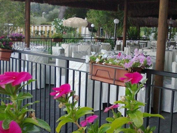 Sala Ristorante vista Lago in Hotel Bracciano