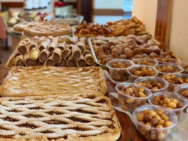 Buffet in Locanda a Bosco ideale per Cerimonie