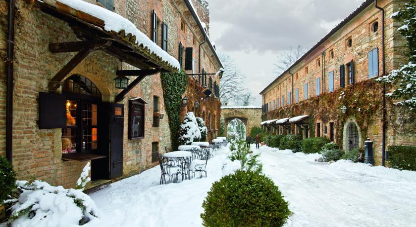 Il Borgo nella stagione invernale