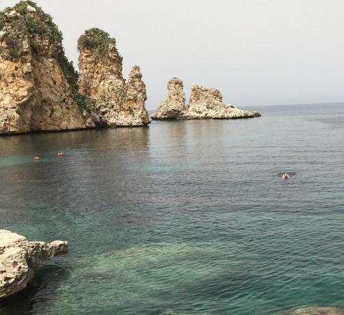 Scopello frazione di Castellammare del Golfo