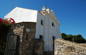 The church of Carloforte