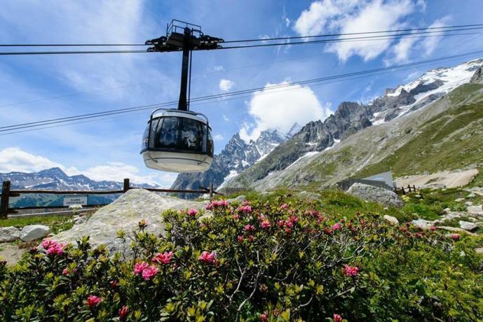 Hotel con splendido panorama sui monti