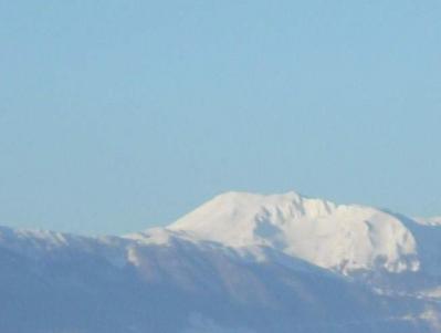 Veduta Invernale dall' Hotel di Campitello Matese
