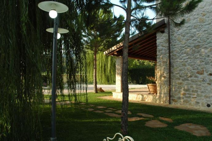 Agriturismo con Appartamento e giardino privato a Ferentillo