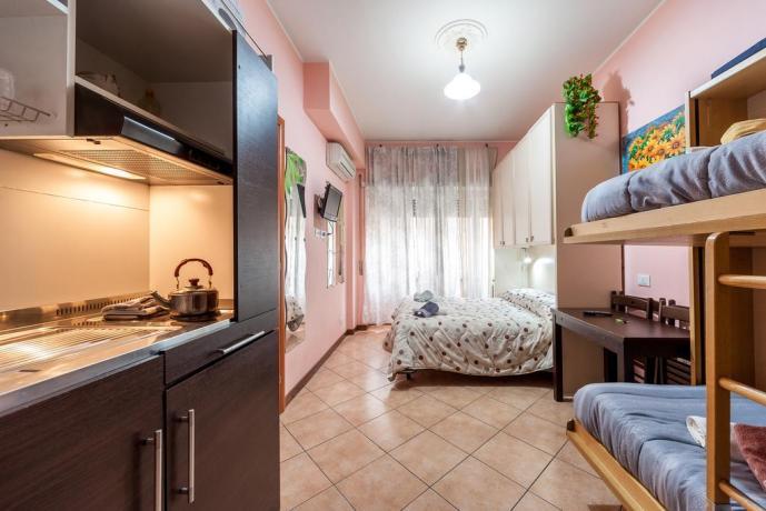 Appartamento 4 persone con cucina a Roma