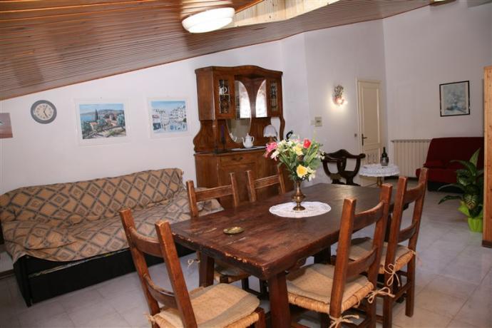 Appartamento mansardato aria condizionata Oleandri