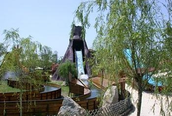 Water Amusementpark Gulliverlandia in Lignano Italy,