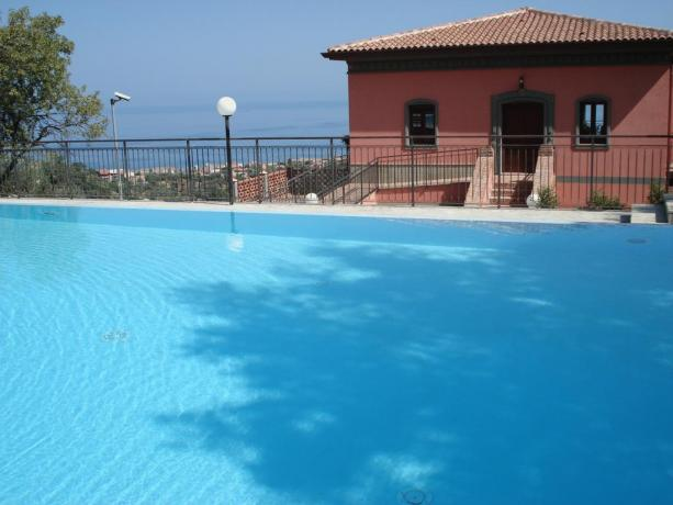 B&B con piscina Isole Eolie