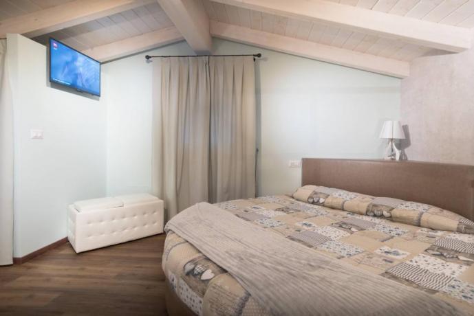 Letto Rotondo in camera con Centro-Benessere privato
