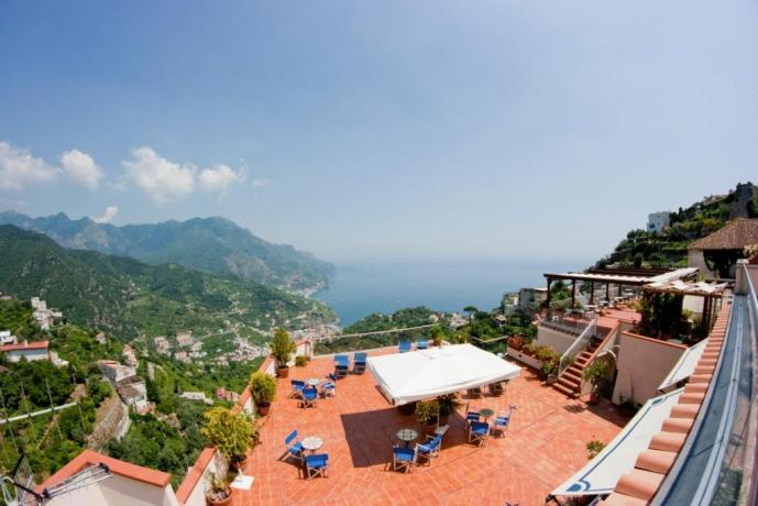 Vista panoramica da Hotel a Ravello