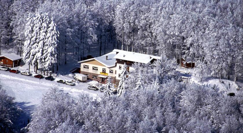 Panorama Monte Amiata d'inverno