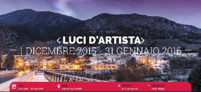 Evento luci d 39 artista san lorenzello san lorenzello for San lorenzello